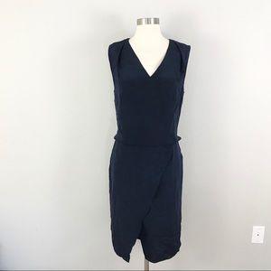 Kobi Halperin 12 Livia Popover Dress Blue Silk